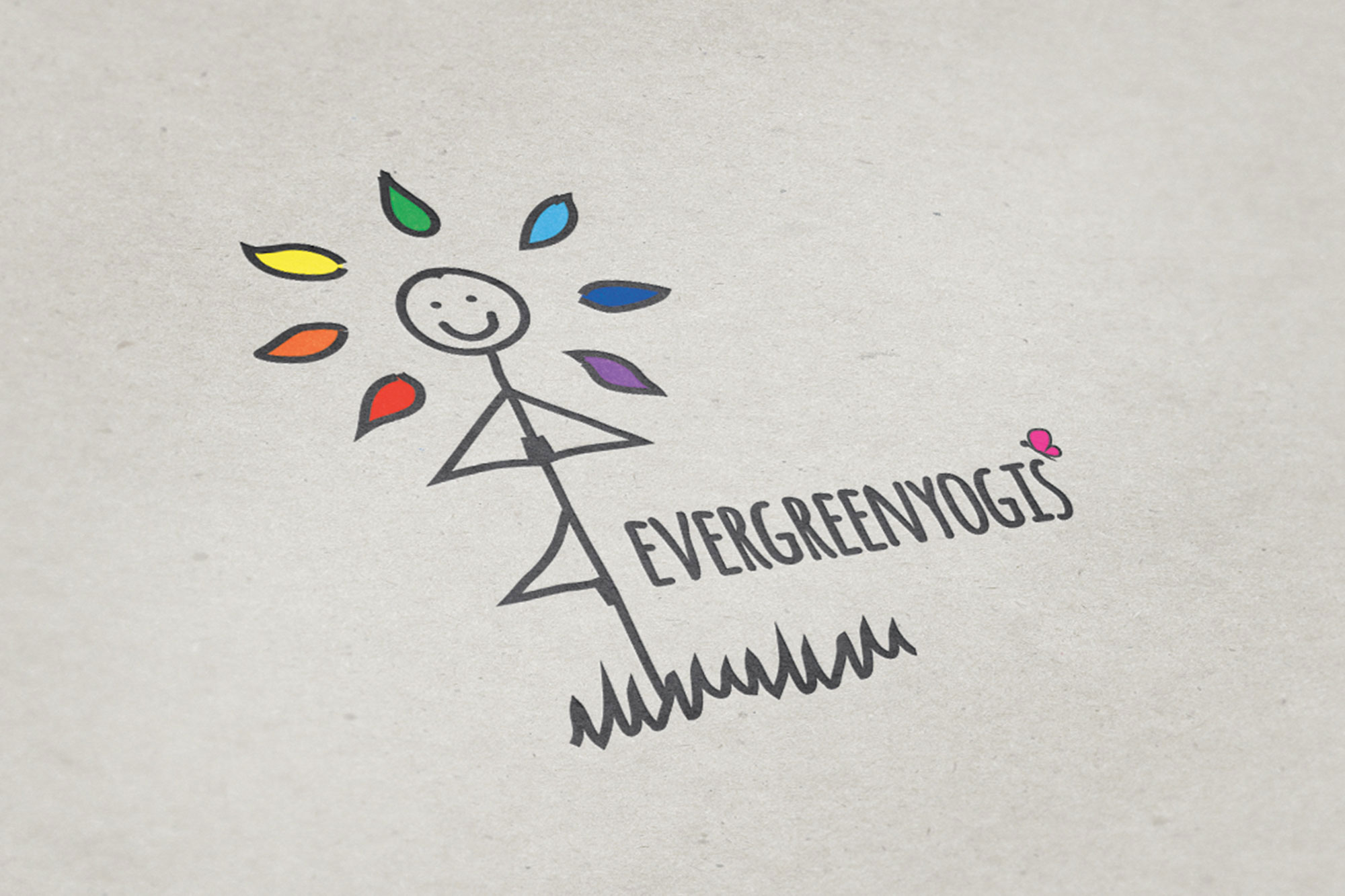 Evergreenyogis Logo