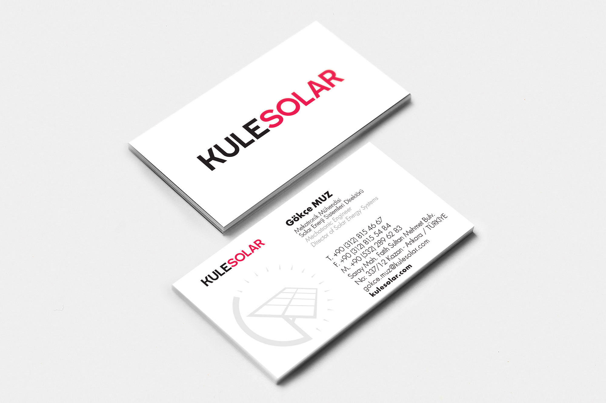Kule Solar Logo and Corporate ID